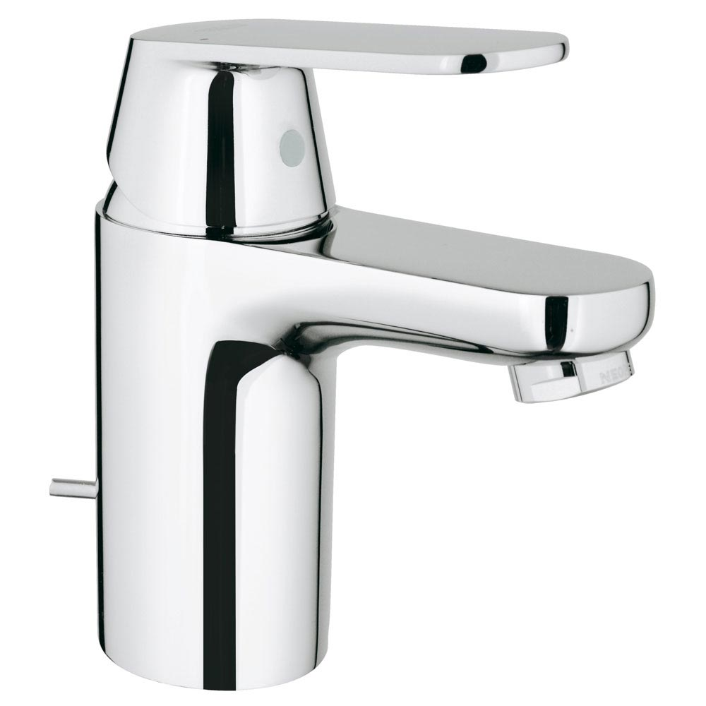 Grohe Eurosmart Cosmopolitan Mono Basin Mixer with Pop-up Waste - 32955000 profile large image view 1