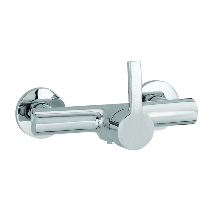 Laufen - Curve Pro Wall Mounted Shower Mixer profile large image view 2