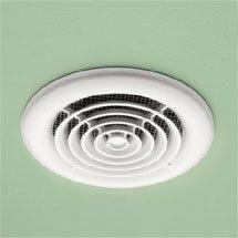 HIB Cyclone White Wet Room Inline Fan - 33300 Medium Image