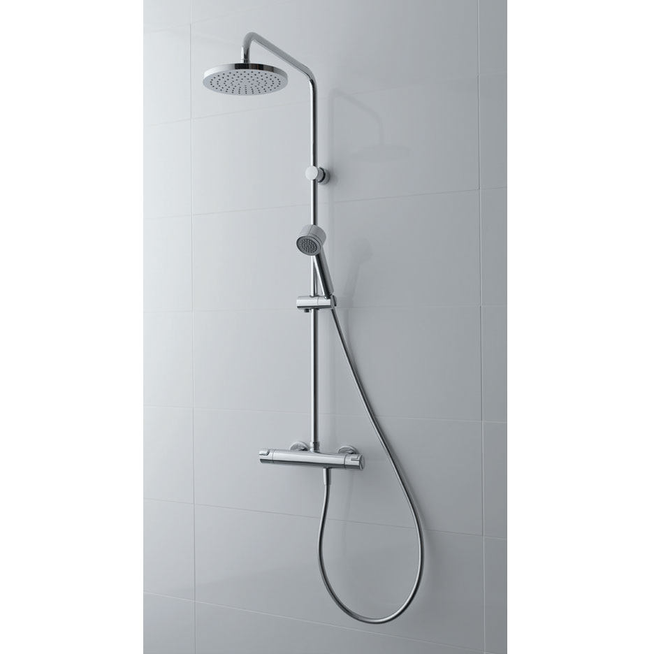 Laufen - City Pro Thermostatic Bar Shower Valve with Kit profile large image view 2