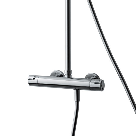 Laufen - City Pro Thermostatic Bar Shower Valve with Kit profile large image view 5