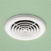 HIB Turbo White Bathroom Inline Fan - 33500 Medium Image