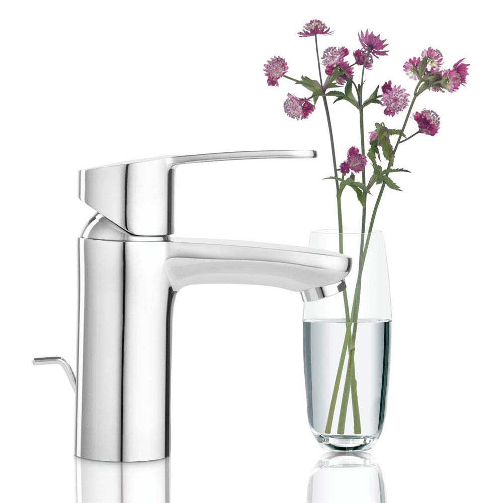Grohe Eurostyle Cosmopolitan Mono Basin Mixer with Pop-up Waste - 33552002 profile large image view 2
