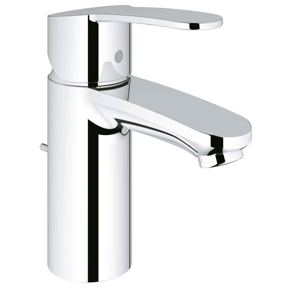 Grohe Eurostyle Cosmopolitan Mono Basin Mixer with Pop-up Waste - 33552002 profile large image view 1