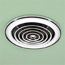 HIB Turbo Chrome Bathroom Inline Fan - 33600 Medium Image