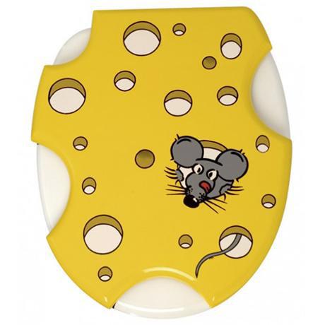 Wenko Speedy Mouse MDF Toilet Seat - 336831100