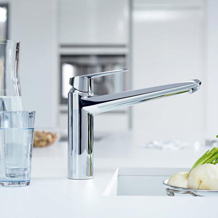Grohe Eurodisc Cosmopolitan Kitchen Sink Mixer - 33770002 profile large image view 2