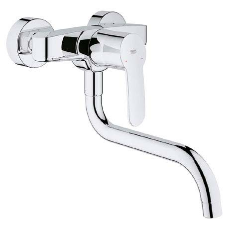 Grohe Eurostyle Cosmopolitan Wall Mounted Kitchen Sink Mixer 33982002