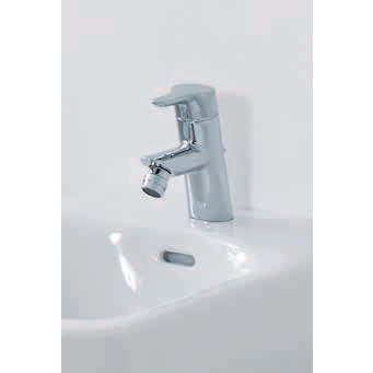 Laufen - Twin Pro Monobloc Bidet Mixer with Pop-up Waste Profile Large Image