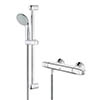 Grohe Grohtherm 1000 New Thermostatic Shower Mixer and Kit - 34151003 profile small image view 1