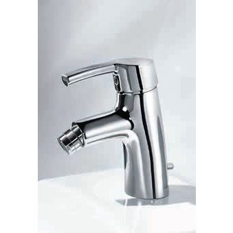 Laufen - Curve Pro Monobloc Bidet Mixer with Pop-up Waste Profile Large Image
