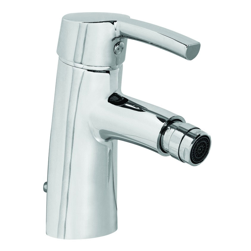 Laufen - Curve Pro Monobloc Bidet Mixer with Pop-up Waste Large Image