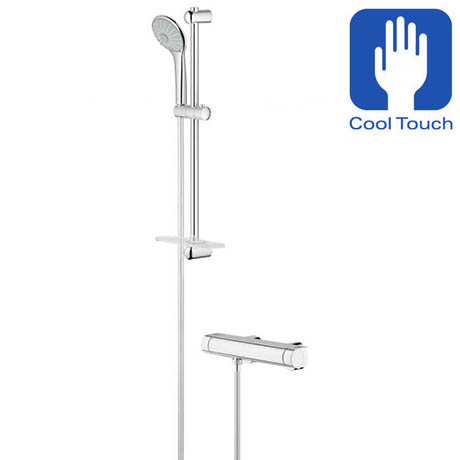 Grohe Grohtherm 2000 Thermostatic Shower Mixer and Kit - 34195001