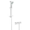 Grohe Grohtherm 2000 Thermostatic Shower Mixer and Kit - 34195001 profile small image view 1