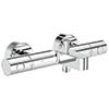 Grohe Grohtherm 1000 Cosmopolitan M Wall Mounted Thermostatic Bath Shower Mixer - 34215002 profile small image view 1