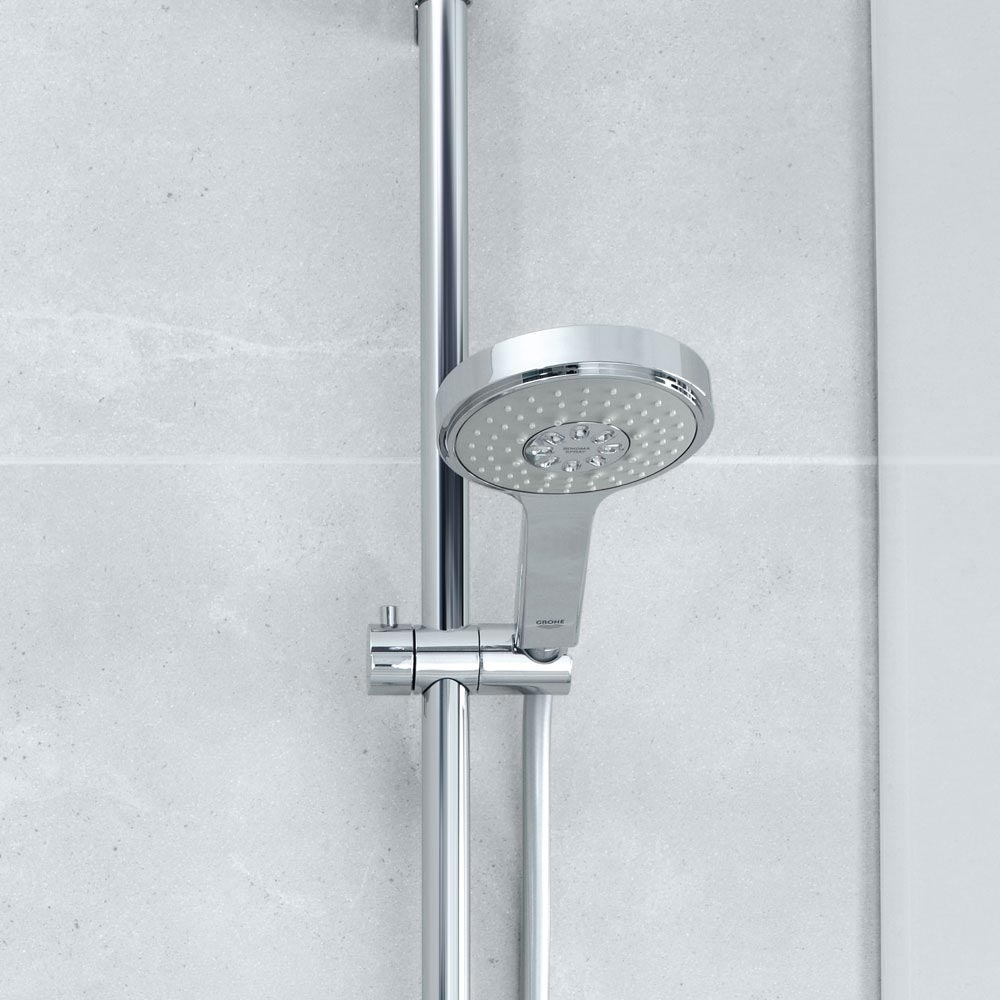 Grohe Grohtherm 2000 Thermostatic Shower Mixer and Kit - 34281001 profile large image view 2