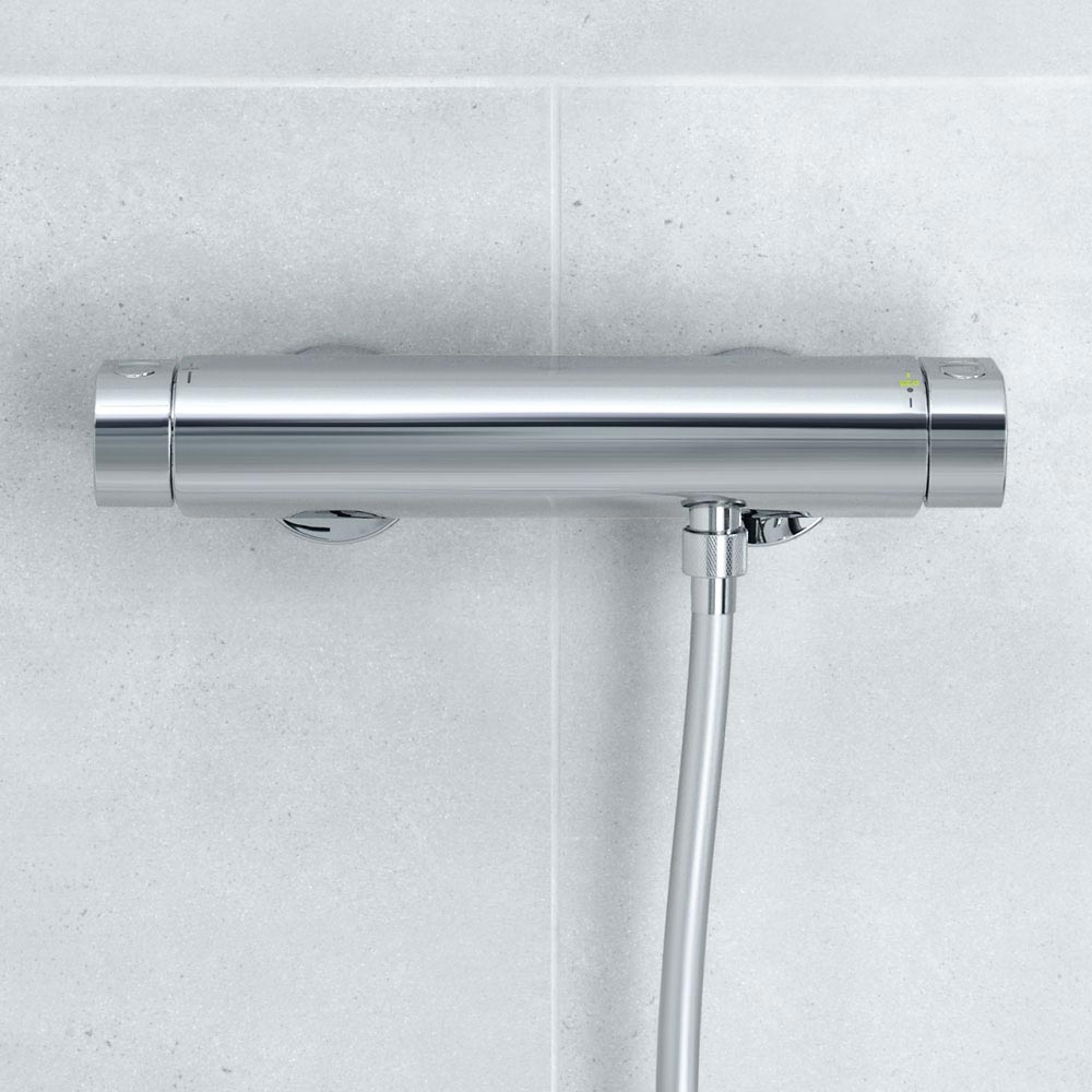 Grohe Grohtherm 2000 Thermostatic Shower Mixer and Kit - 34281001 profile large image view 3