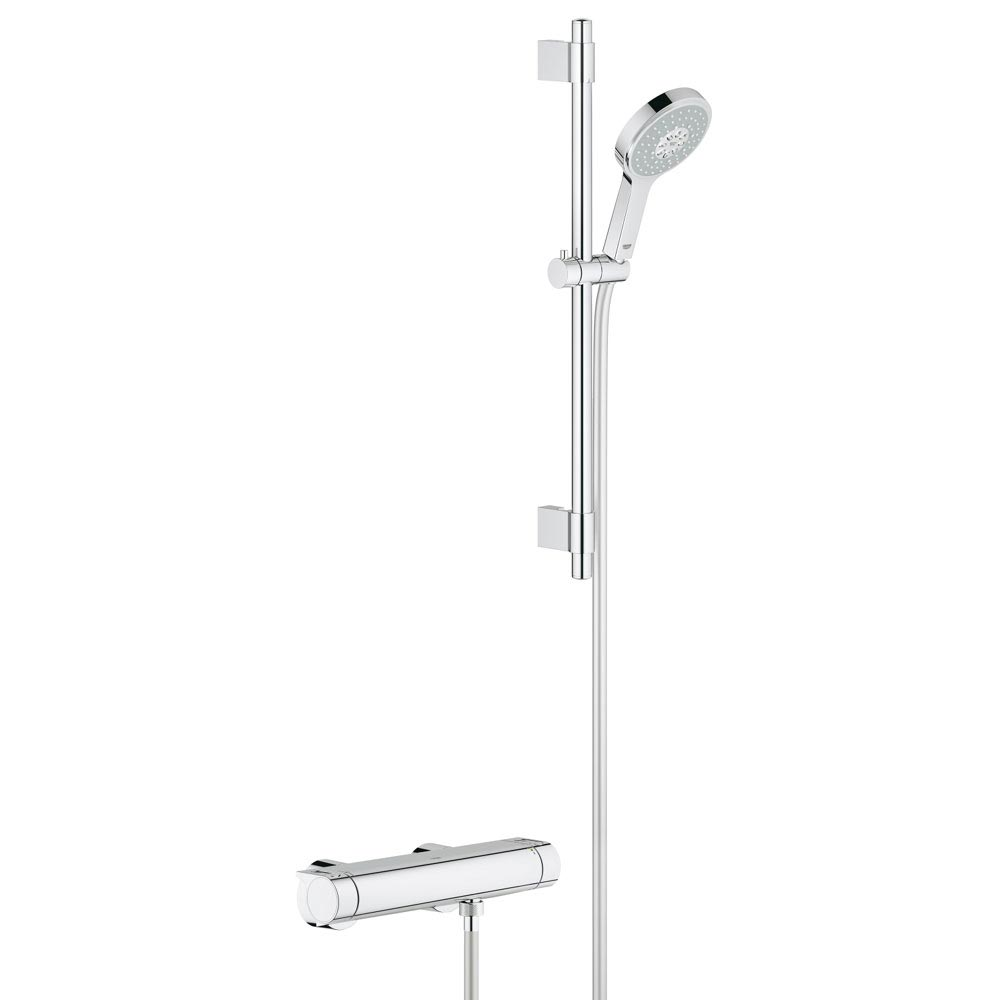 Grohe Grohtherm 2000 Thermostatic Shower Mixer and Kit - 34281001