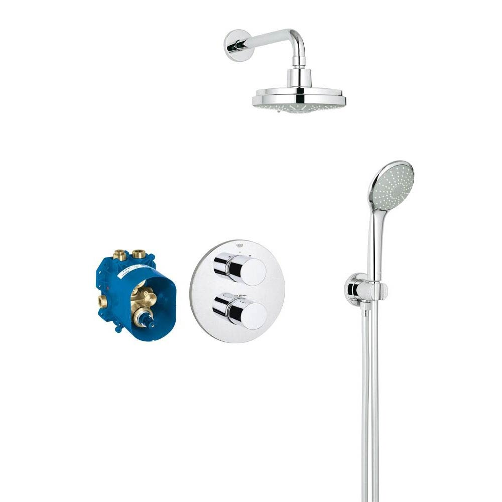 Grohe Grohtherm 3000 Cosmopolitan Perfect Shower Set - 34399000 profile large image view 1