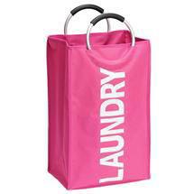 Wenko Lipstick Uno Laundry Bin - Pink - 3440030100 Medium Image