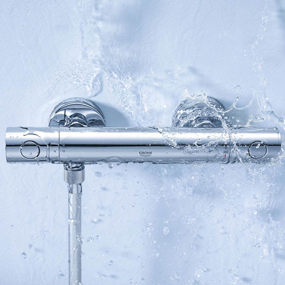 Grohe Grohtherm 1000 Cosmopolitan M Thermostatic Shower Mixer - 34440002 profile large image view 3
