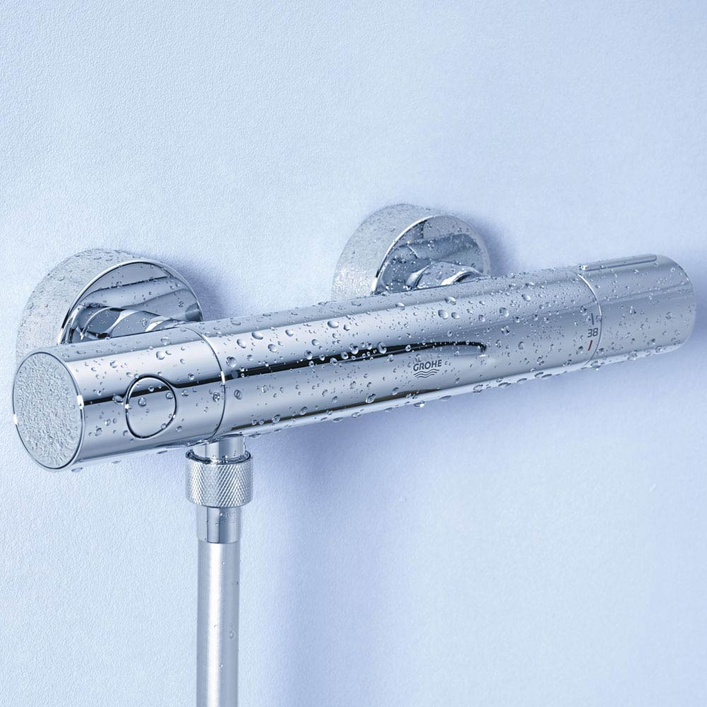 Grohe Grohtherm 1000 Cosmopolitan M Thermostatic Shower Mixer - 34440002 profile large image view 4