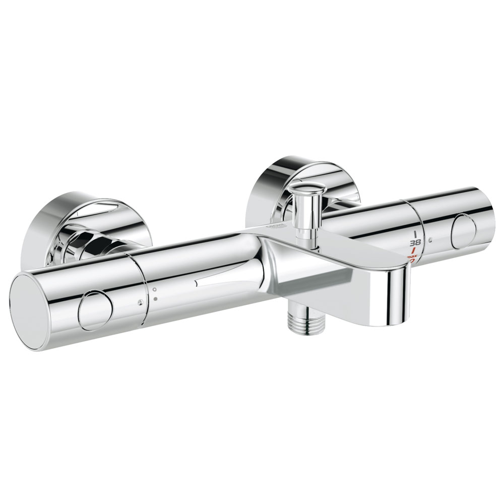 Grohe Grohtherm 1000 Cosmopolitan M Thermostatic Bath Shower Mixer - 34441002 profile large image view 1