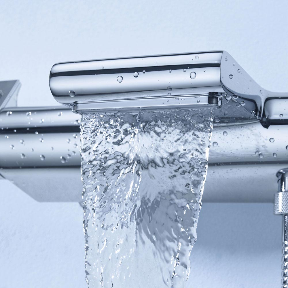 Grohe Grohtherm 2000 Thermostatic Bath Shower Mixer - 34466001 profile large image view 3