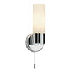 Endon Pure Wall Light with Pull Switch - 34483 profile small image view 1