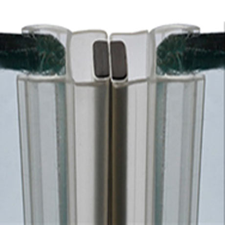 Magnetic Shower Door Seal for 4-6mm Glass