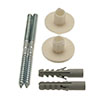 Basin Fixing Kit 8mm x 110mm profile small image view 1