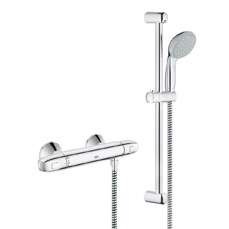 Grohe Grohtherm 1000 New Thermostatic Shower Mixer and Kit - 34557000