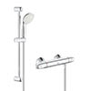 Grohe Grohtherm 1000 New Thermostatic Shower Mixer and Kit - 34557001 profile small image view 1