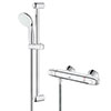 Grohe Grohtherm 1000 New Thermostatic Shower Mixer and Kit - 34557001 Small Image