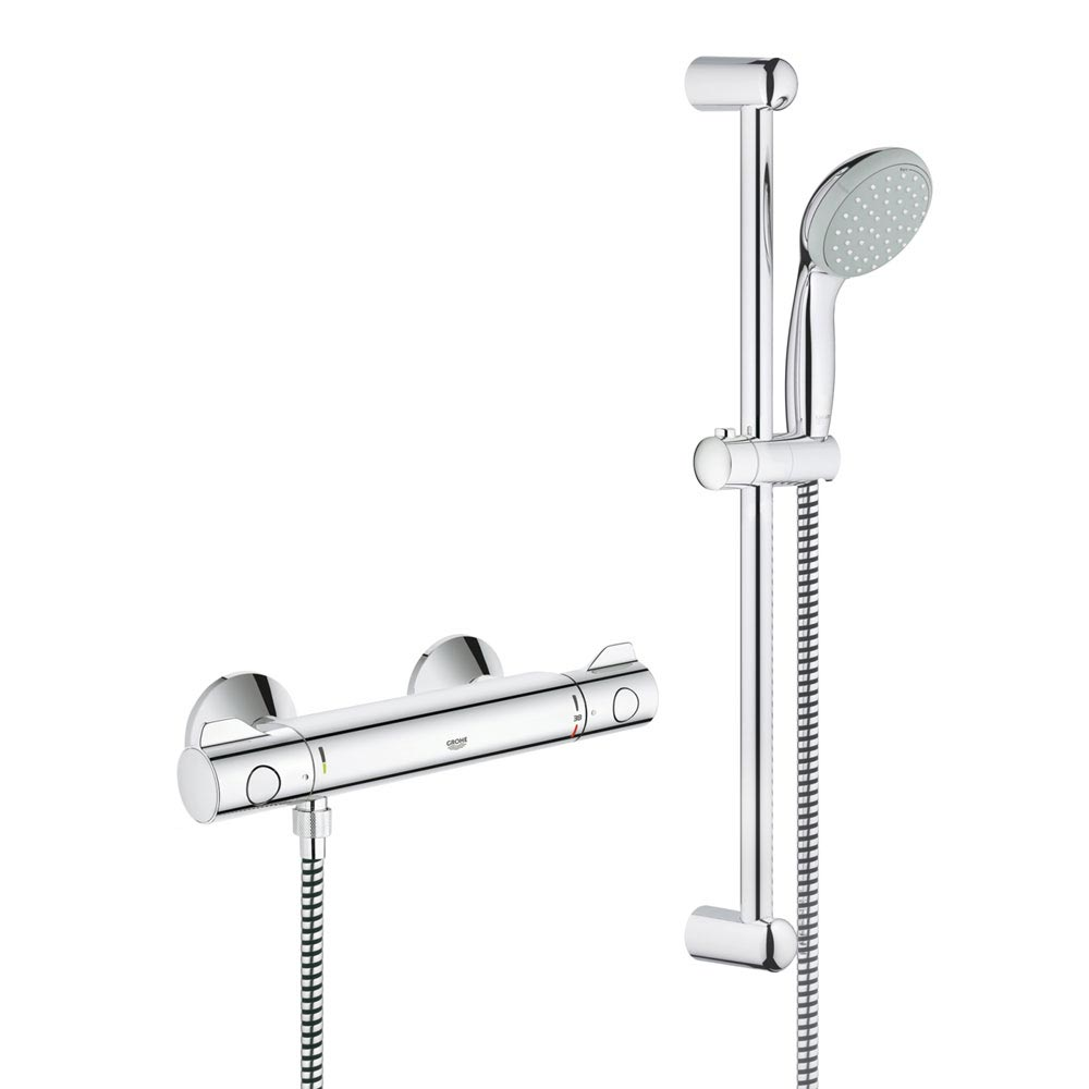 Grohe Grohtherm 800 Thermostatic Shower Mixer and Kit - 34565000