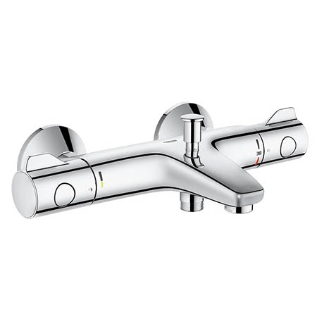 Grohe Grohtherm 800 Wall Mounted Thermostatic Bath Shower Mixer - 34567000
