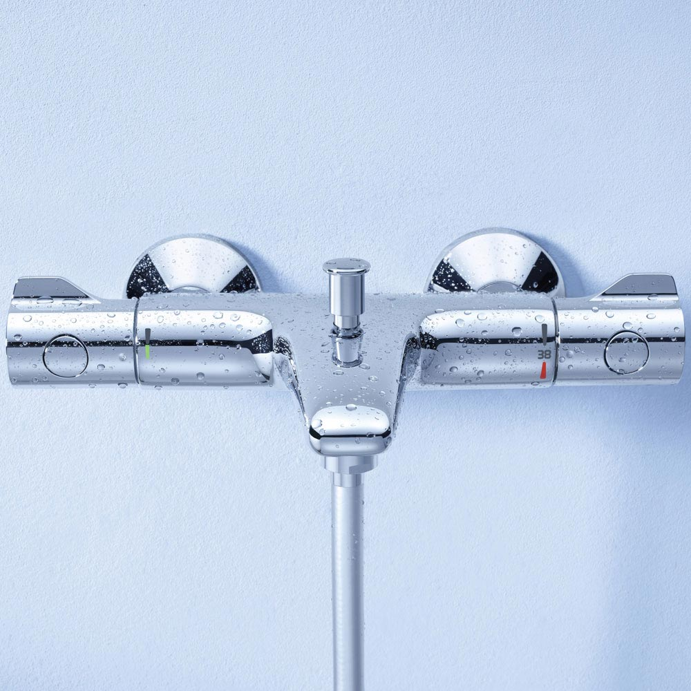 Grohe Grohtherm 800 Thermostatic Bath Shower Mixer - 34569000  Profile Large Image