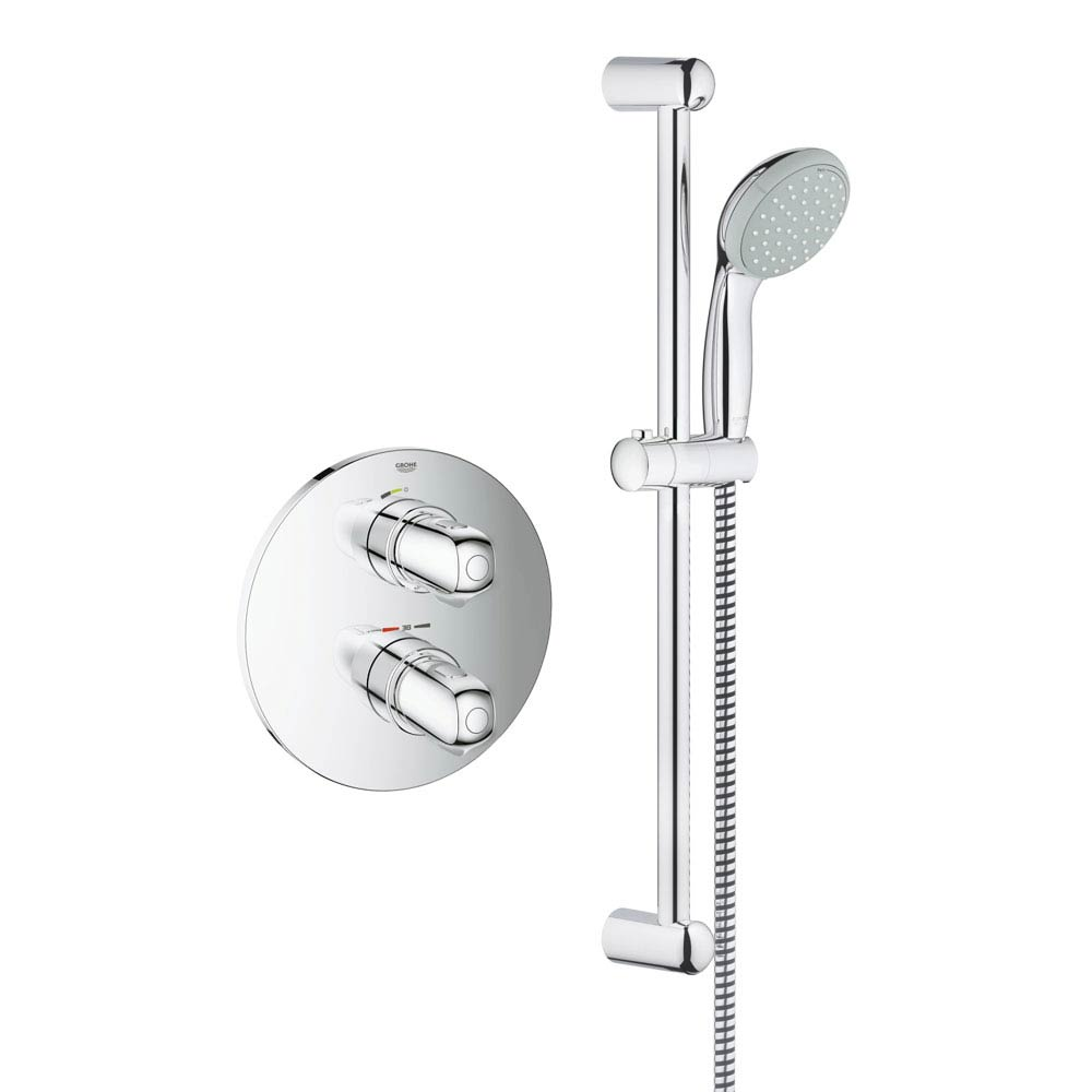 Grohe Grohtherm 1000 Concealed Shower Set - 34575000 Large Image