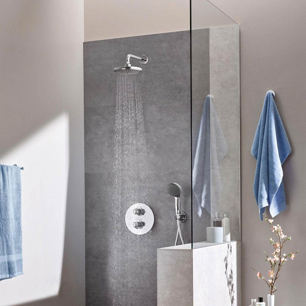 Grohe Grohtherm 1000 Perfect Shower Set - 34582000  Feature Large Image