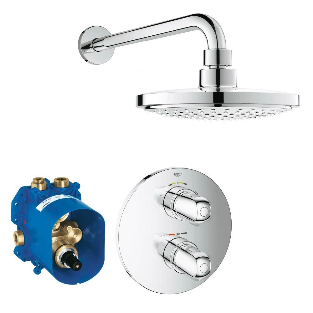 Grohe Grohtherm 1000 Perfect Shower Set - 34582000 Large Image