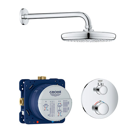 Grohe Grohtherm Perfect Shower Set with Tempesta 210 - 34726000