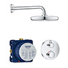 Grohe Grohtherm Perfect Shower Set with Tempesta 210 - 34726000 profile small image view 1