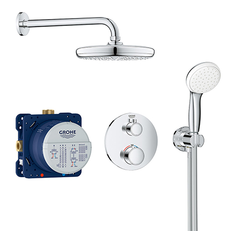 Grohe Grohtherm Perfect Shower Set with Tempesta 210 - 34727000