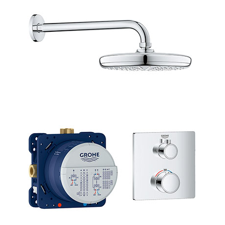 Grohe Grohtherm Perfect Shower Set with Tempesta 210 - 34728000
