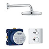 Grohe Grohtherm Perfect Shower Set with Tempesta 210 - 34728000 profile small image view 1