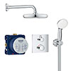 Grohe Grohtherm Perfect Shower Set with Tempesta 210 - 34729000 profile small image view 1