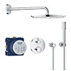 Grohe Grohtherm Perfect Shower Set with Rainshower Cosmopolitan 160 - 34731000 profile small image view 1