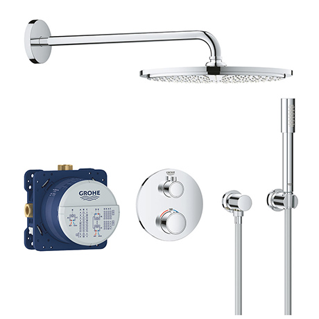 Grohe Grohtherm Perfect Shower Set with Rainshower Cosmopolitan 160 - 34731000