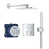 Grohe Grohtherm Cube Perfect Shower Set with Rainshower Allure 230 - 34741000 profile small image view 1