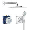Grohe Grohtherm SmartControl Perfect Shower Set - 34742000 profile small image view 1